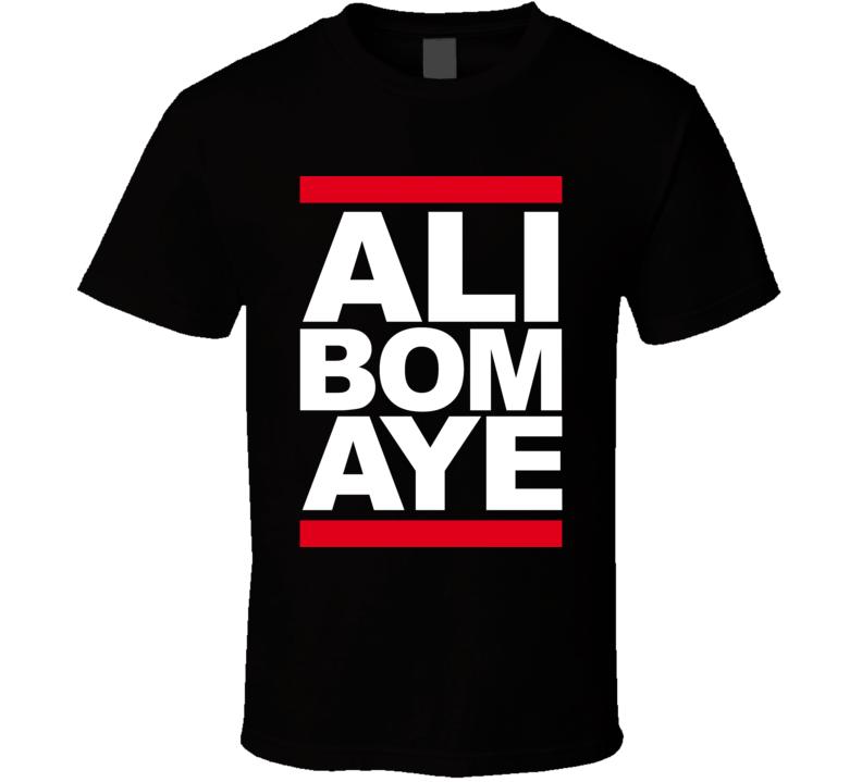 Ali Bomaye Mohammad Ali Rumble In The Jungle Boxing T Shirt