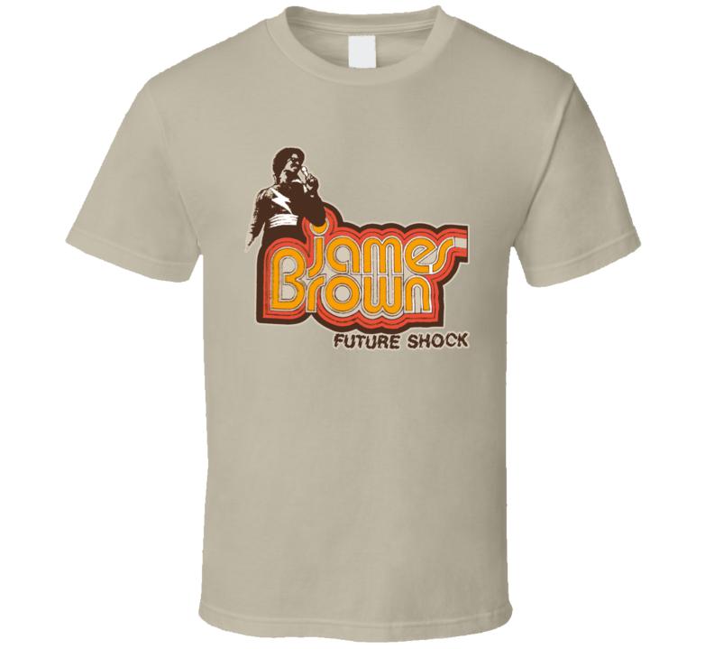 James Brown Future Shock Cool Retro 1976 Music T Shirt