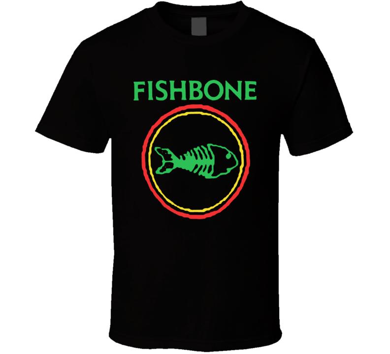 Fishbone Retro Punk Rock And Roll Band Fish Bone T Shirt