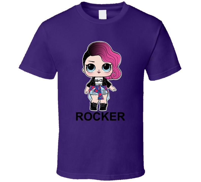 Rocker Lol Doll Kid Toy Fan T Shirt