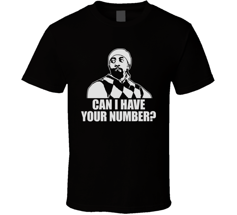 Darrell Can I Have Your Number Mad Tv Funny Pickup T Shirt