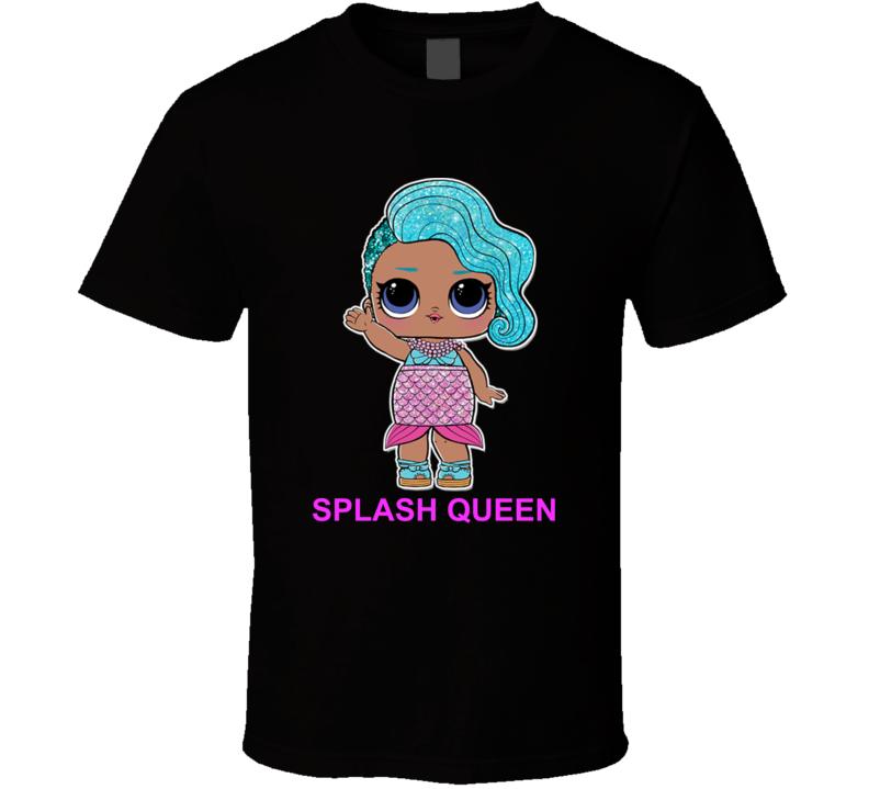 Splash Queen Lol Doll Kid Toy Fan T Shirt