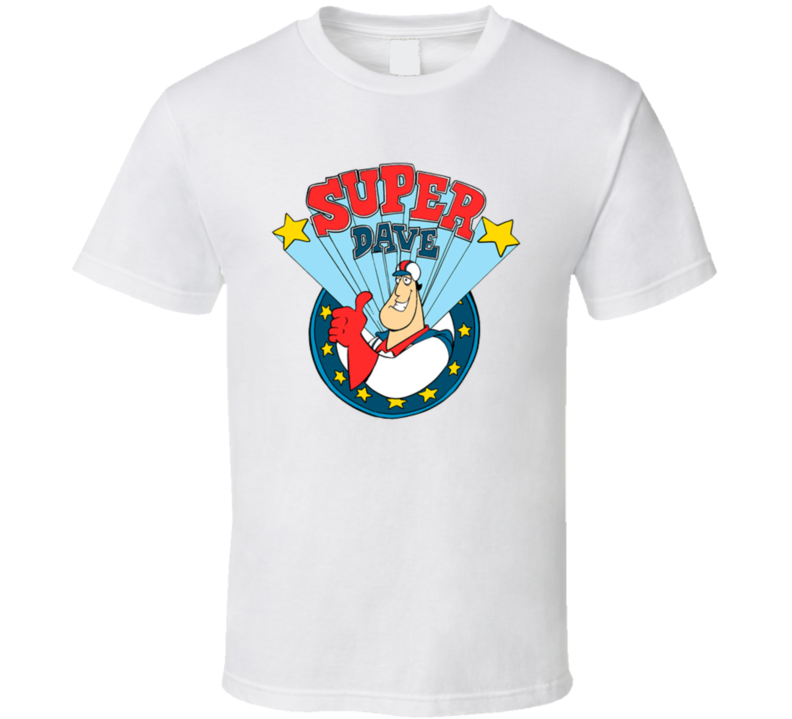 Super Dave Osborne Daredevil Cartoon Tv Show T Shirt