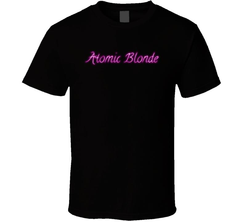 Atomic Blonde Theron Movie Fan T Shirt