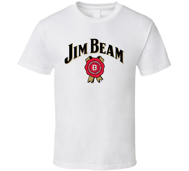 Jim Beam Kentucky Bourban Alcohol Fan T Shirt