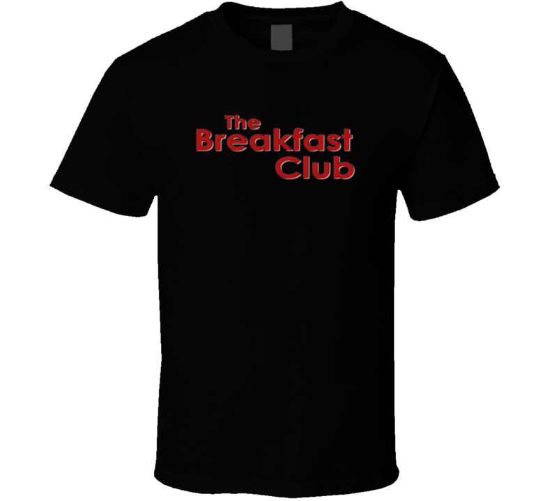 The Breakfast Club Popular 80's Movie Fan T Shirt