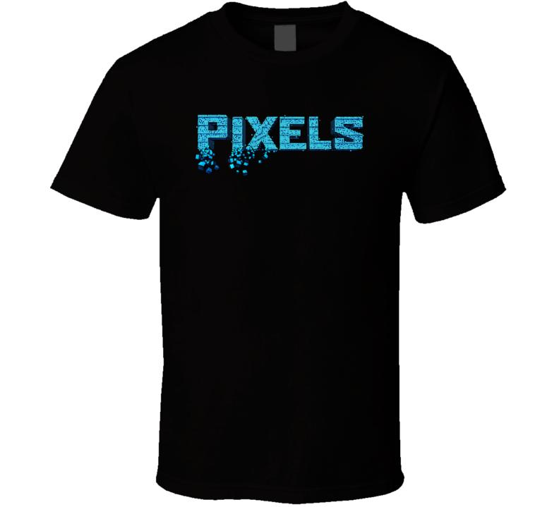 Pixels Science Fiction Fantasy Movie Fan T Shirt