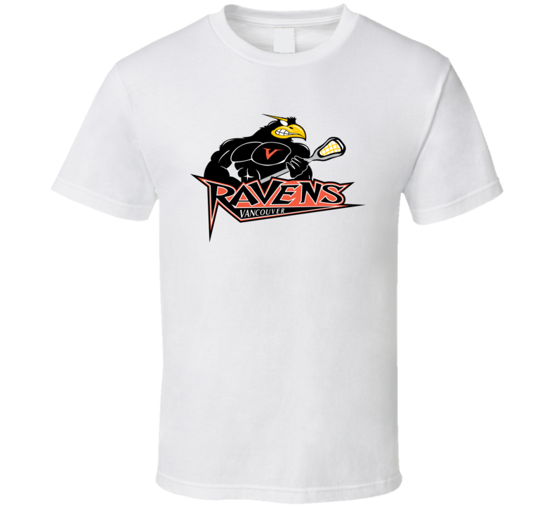 Vancouver Ravens Lacrosse Team Fan T Shirt