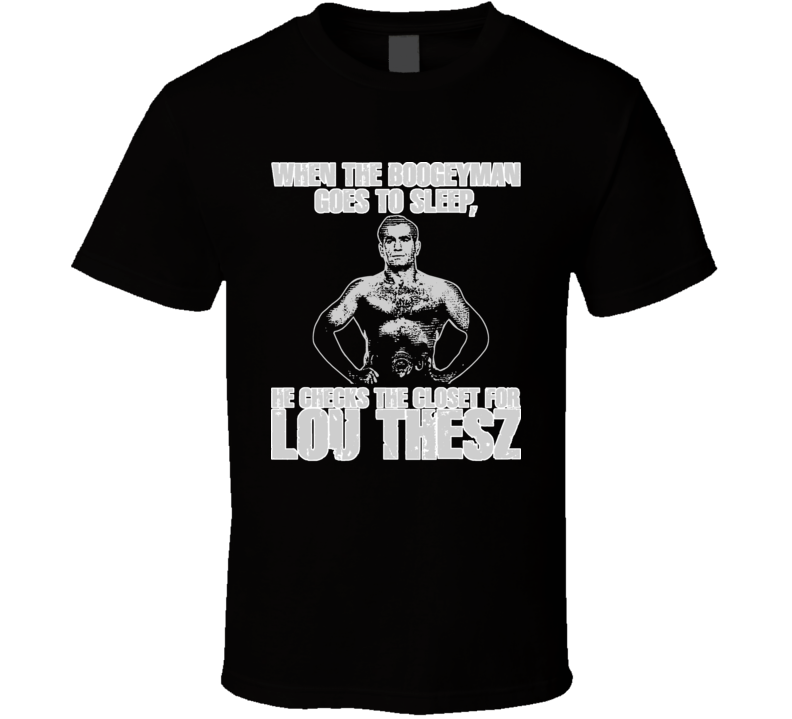 Lou Thesz Wrestling Champion Mma Mixed Martial Arts T Shirt
