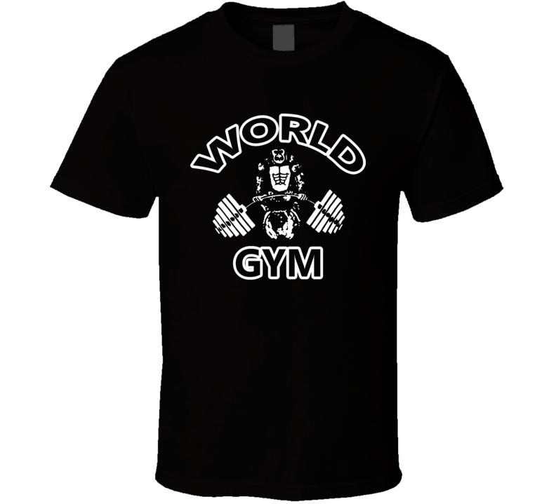 Gold's Gym World Gym T Shirt