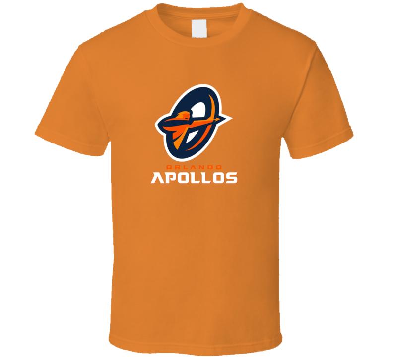 Orlando Apollos Alliance Of Amercian Football T Shirt
