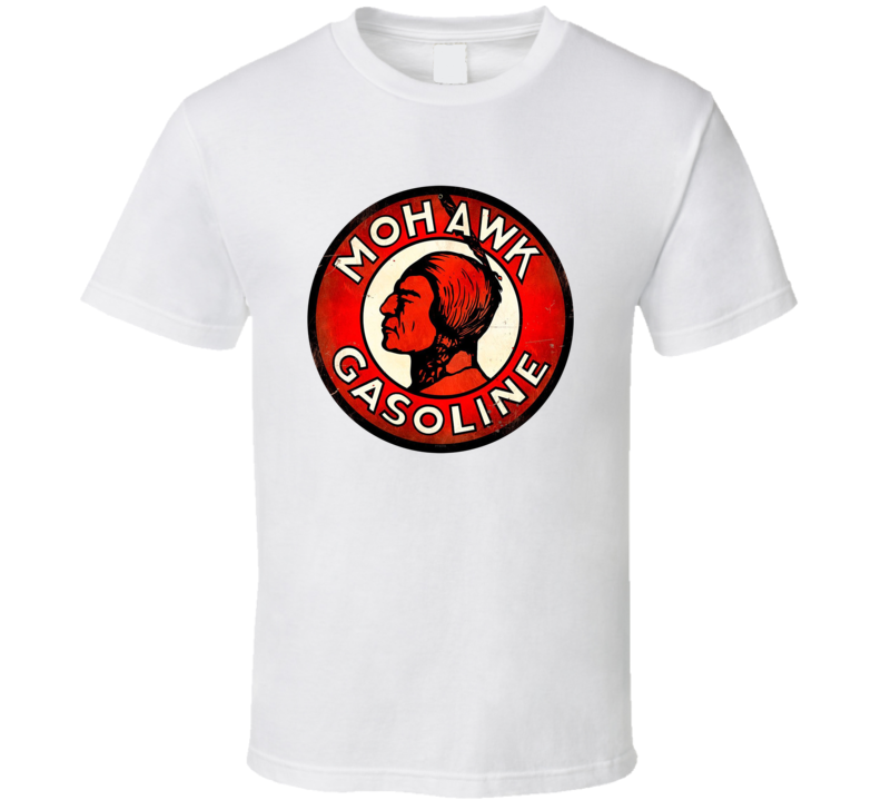Mohawk Gasoline Retro Automotive T Shirt