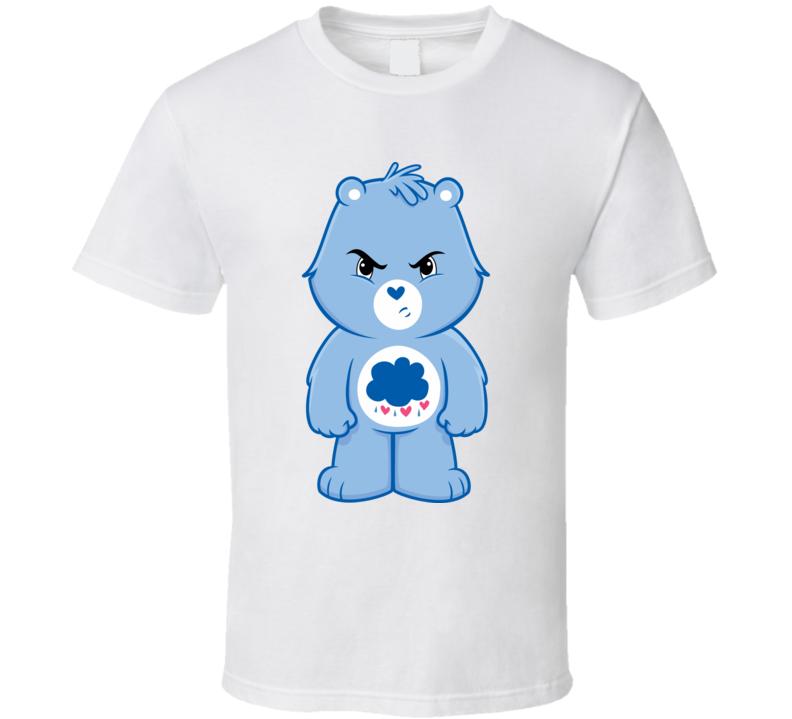 Grumpy Care Bear Cartoon T Shirt