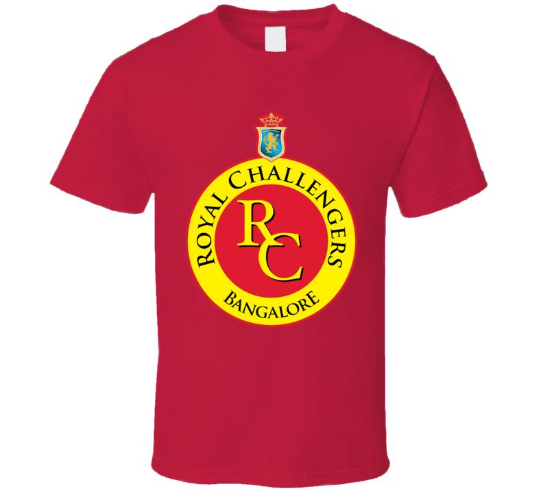 Banglore Royal Challengers Ipl Cricket India T Shirt