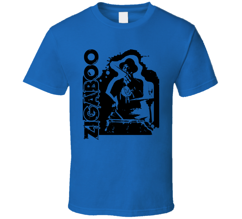 Zigaboo Modeliste Rock Drummer Music T Shirt