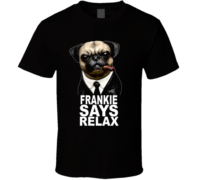 Frank The Pug Mib Men In Black Dog Animal Will Smith Tommy T Shirt