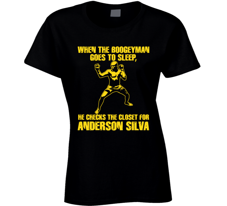 Anderson Silva Mma Ultimate Fighter Brazil T Shirt T Shirt T Shirt