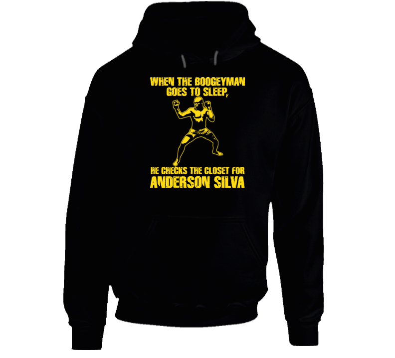 Anderson Silva Mma Ultimate Fighter Brazil T Shirt T Shirt Hoodie