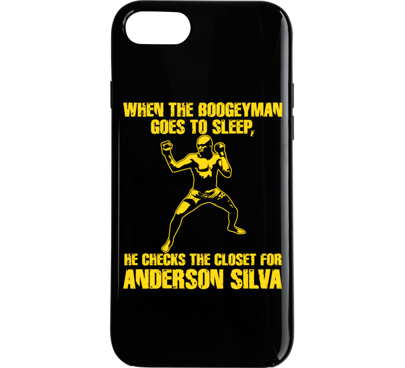 Anderson Silva Mma Ultimate Fighter Brazil T Shirt T Shirt Phone Case