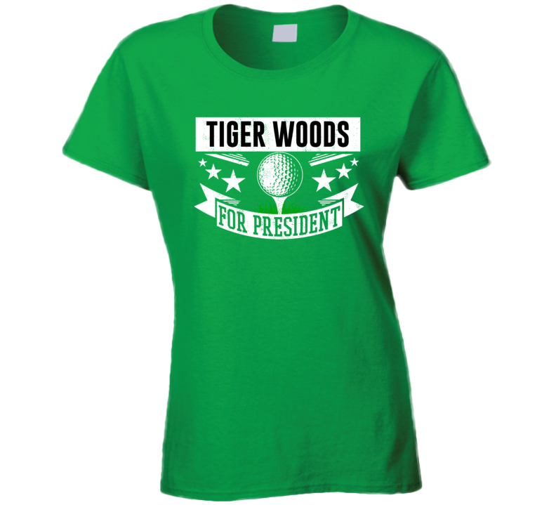 Tiger Woods For President Golf Champion Player Masters Fan T Shirt