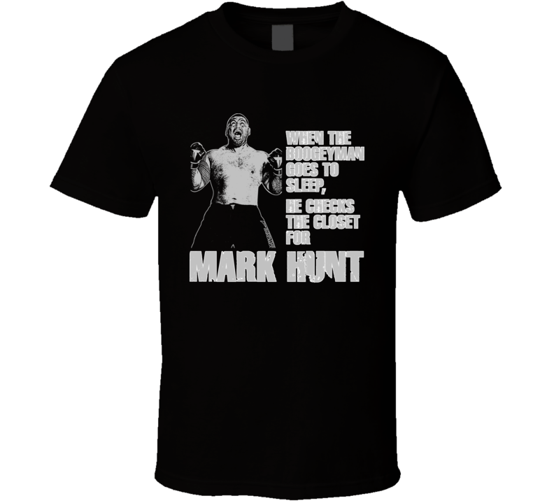 Mark Hunt Boogeyman New Zealand Kiwi Mma Fighter Ko T Shirt
