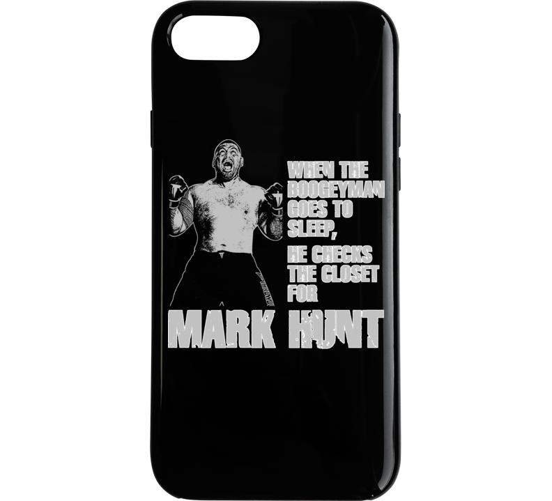 Mark Hunt Boogeyman New Zealand Kiwi Mma Fighter Ko Phone Case