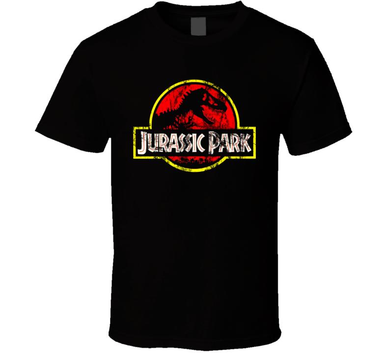 Jurassic Park 90s Movie T Shirt