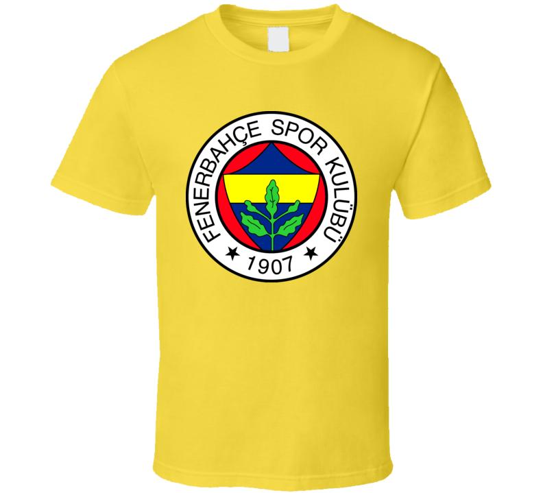 Fenerbahce Turkey Soccer Football Canaries T Shirt