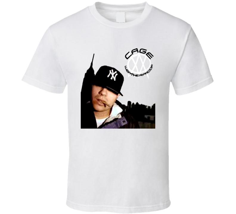 Cage Rapper Hip Hop Weatherproof Music T Shirt