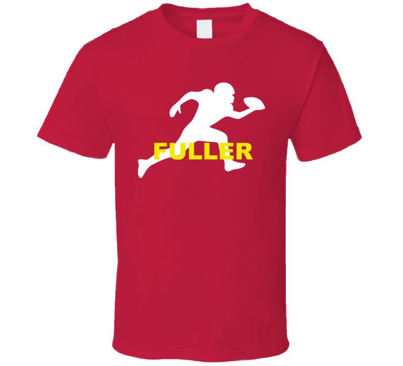 Fuller Kansas City Football Player Team Sports Fan T Shirt
