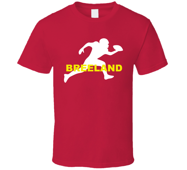 Breeland Kansas City Football Team Sports Fan T Shirt