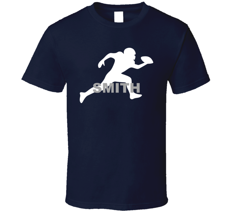 Smith Dallas Football Player Team Sports Fan T Shirt