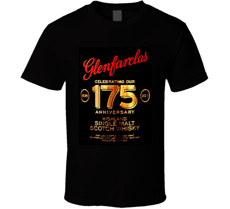 Glenfarclas 175 Year 50 Scotch Whiskey T Shirt