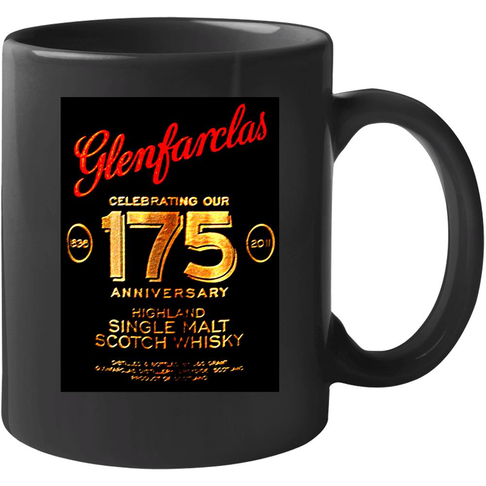 Glenfarclas 175 Year 50 Scotch Whiskey Mug