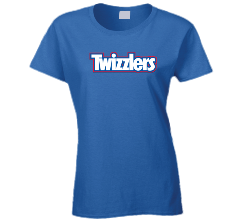 Twizzlers Candy Logo Ladies T Shirt