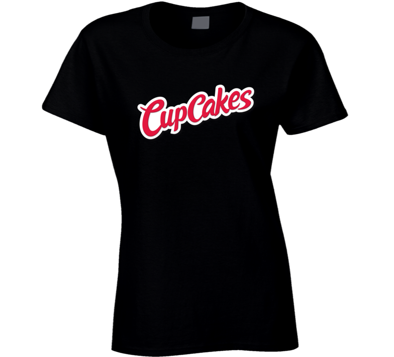 Cup Cakes Hostess Logo Ladies T Shirt