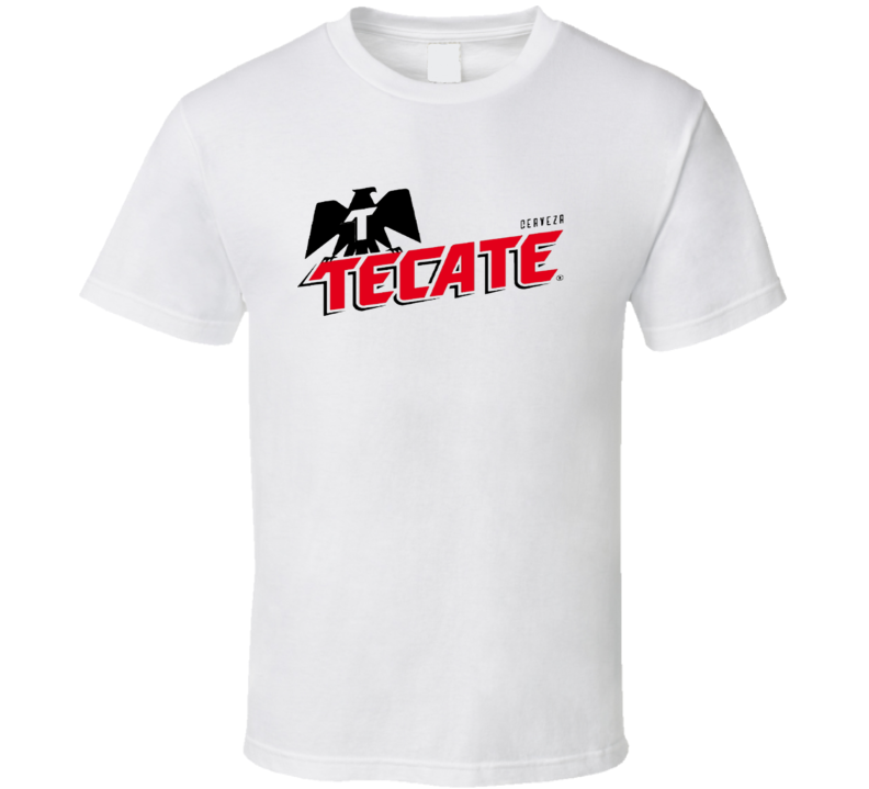 Cerveza Tecate, Mexican Pale Lager Beer T Shirt