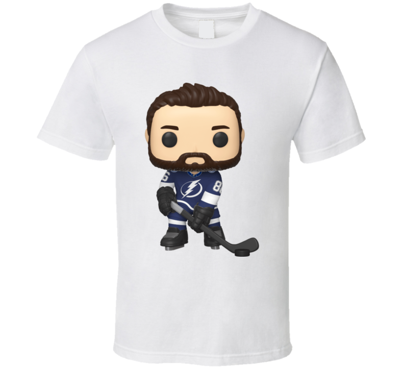 Nikita Kucherov Tampa Bay Hockey Character T Shirt