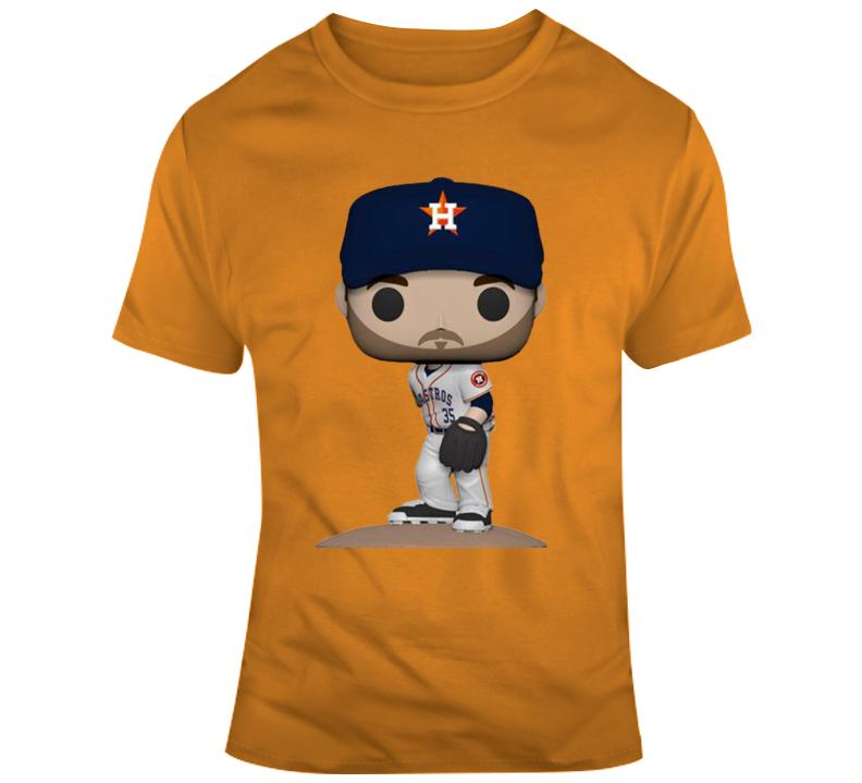 Justin Verlander Houston Baseball Character T Shirt