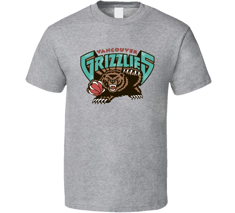 Vancouver Grizzlies Basketball Team T Shirt