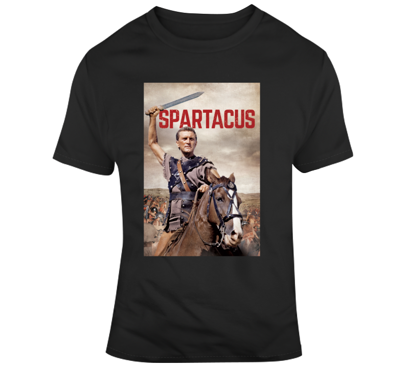 Kirk Douglas As Spartacus Movie T Shirt
