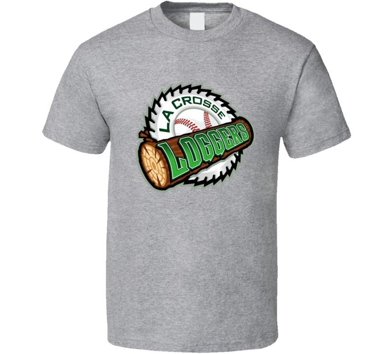 La Crosse Loggers Baseball Team T Shirt