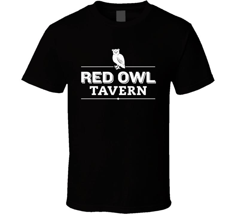 Red Owl Tavern Rustic Restaurant In Old Philadelphia T Shirt