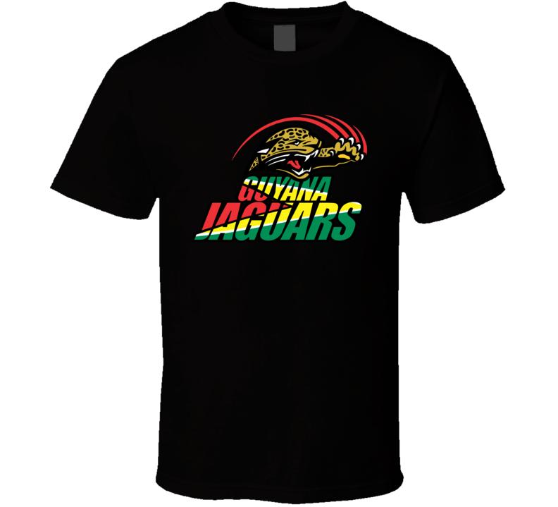 Guyana Jaguars Cricket Team Logo T Shirt