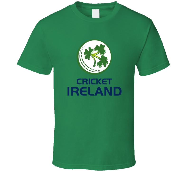 Ireland Cricket Team Logo T Shirt