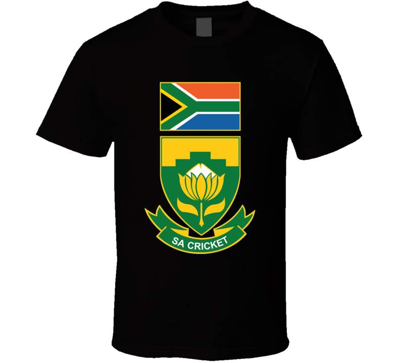 South Africa Cricket Logo T Shirt
