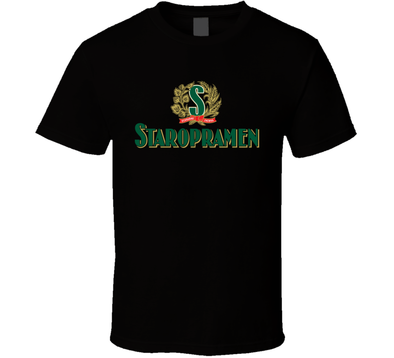 Staropramen Czech Beer T Shirt