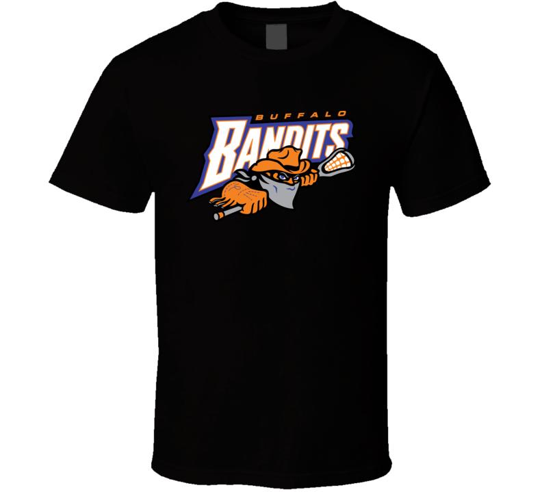 Buffalo Bandits Lacrosse Team Logo T Shirt