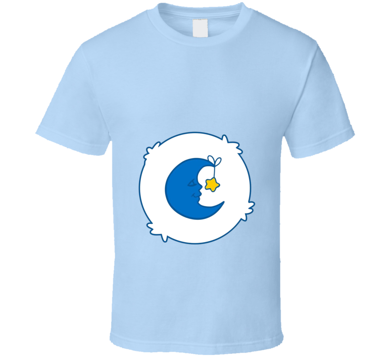 Bedtime Bear Care Bears Cool Cartoon Fan T Shirt