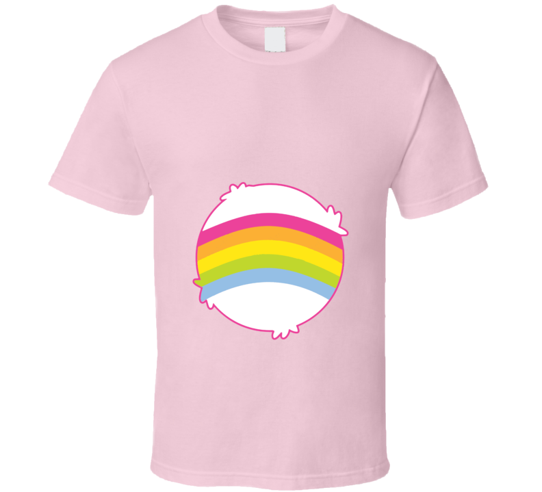 Cheer Bear Care Bears Cool Cartoon Fan T Shirt
